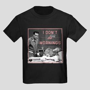 Mornings Kids Dark T-Shirt