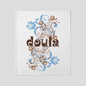 Doula Gift Throw Blanket
