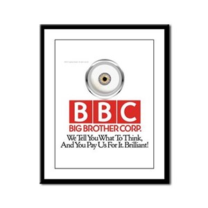 BBC Framed Panel Print