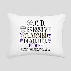 Charmed OCD Rectangular Canvas Pillow