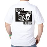 Death Throw Golf Shirt