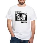 Death Throw White T-Shirt