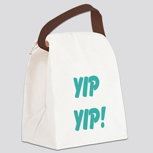 yip yip! Canvas Lunch Bag