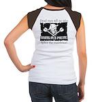Darts Pub Pirate Women's Cap Sleeve T-Shirt
