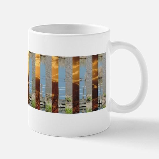 "2.5D juxtaposition arts ""gotta love nature"" Mug"