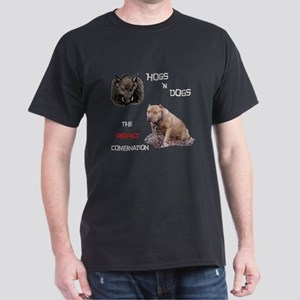 Hogs N Dogs Dark T-Shirt