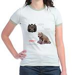 Hogs N Dogs Jr. Ringer T-Shirt