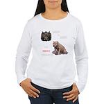 Hogs N Dogs Women's Long Sleeve T-Shirt