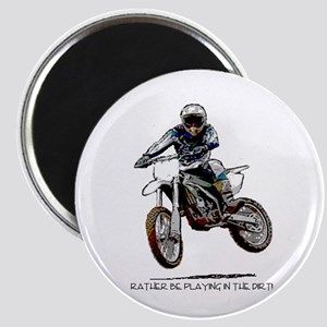 Rather be playing in the dirt with a motorbike Mag