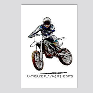 Rather be playing in the dirt with a motorbike Pos