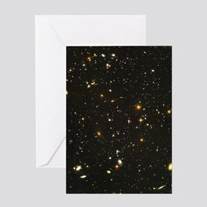 10,000 Galaxies Christmas Greeting Cards (Pack Gre