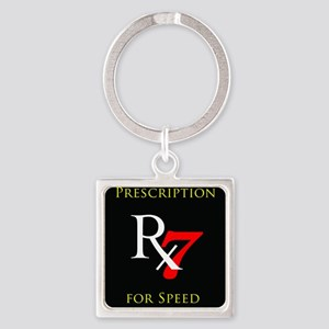Prescription for Speed RX-7 Keychains