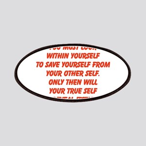 your true self Patches