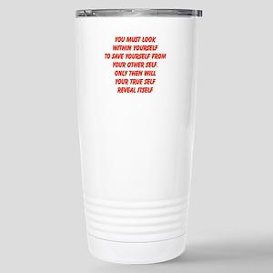 your true self Travel Mug