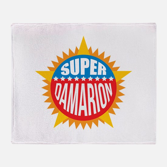 Super Damarion Throw Blanket