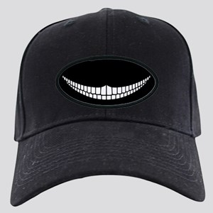 Cheshire Grin Black Cap
