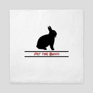 Pet the Bunny Queen Duvet