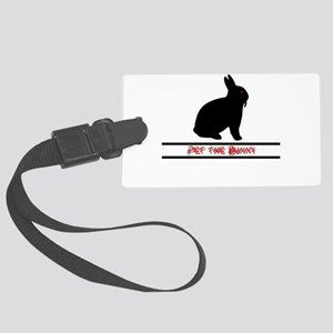 Pet the Bunny Luggage Tag