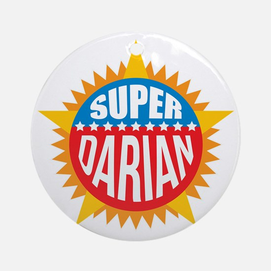 Super Darian Ornament (Round)