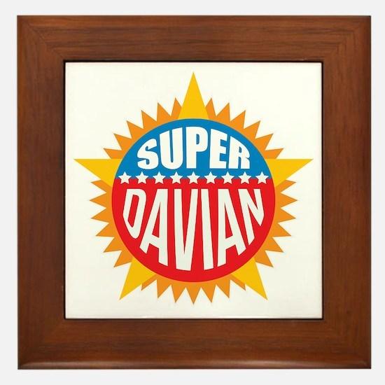 Super Davian Framed Tile