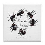 & There Where Ants... Tile Coaster