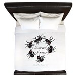 & There Where Ants... King Duvet