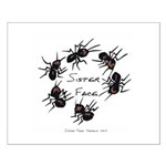 & There Where Ants... Small Poster