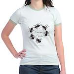 & There Where Ants... Jr. Ringer T-Shirt