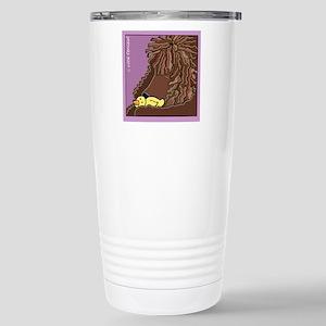 Sleeping Irish Water Spaniel Mugs