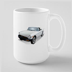 British White Sweetheart Large Mug