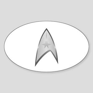 Star Trek Insignia Sticker (Oval)