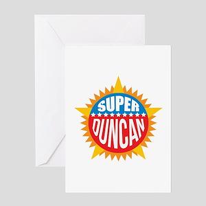 Super Duncan Greeting Card