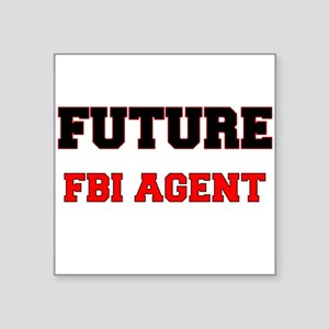 Future Fbi Agent Sticker