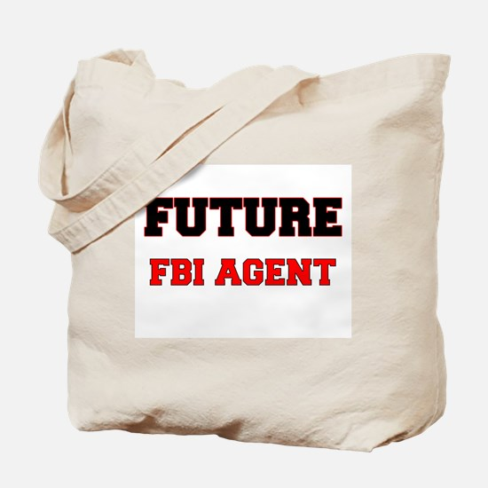 Future Fbi Agent Tote Bag