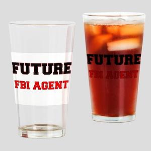 Future Fbi Agent Drinking Glass