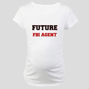 Future Fbi Agent Maternity T-Shirt