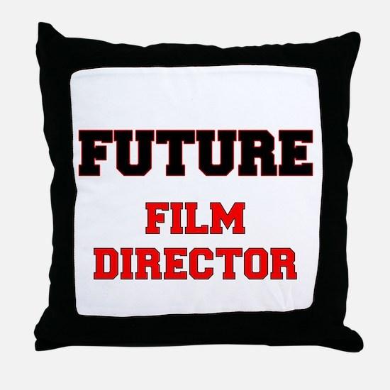 Future Film Director Throw Pillow