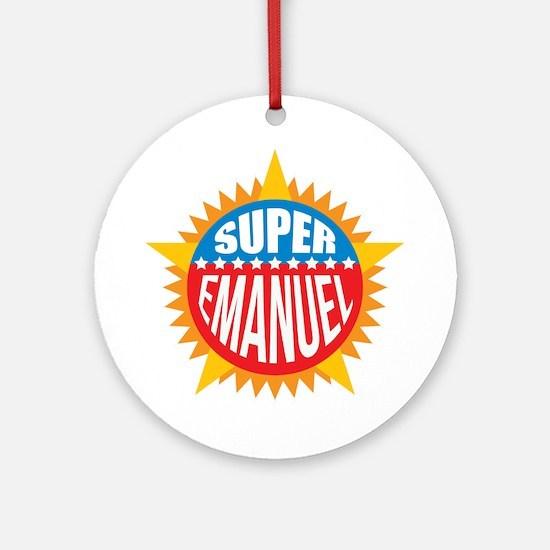 Super Emanuel Ornament (Round)