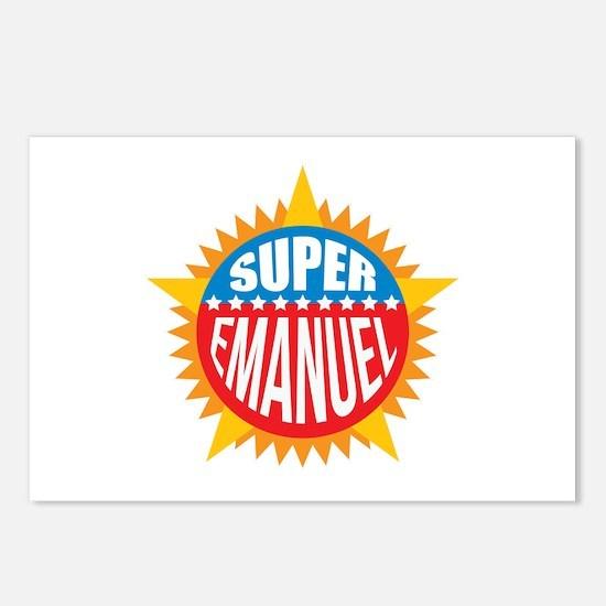 Super Emanuel Postcards (Package of 8)