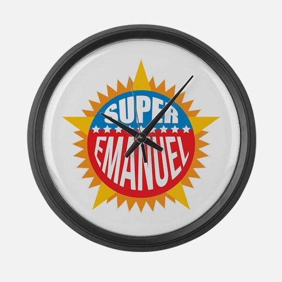 Super Emanuel Large Wall Clock