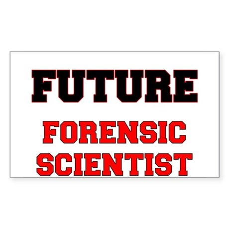 Future Forensic Scientist Sticker