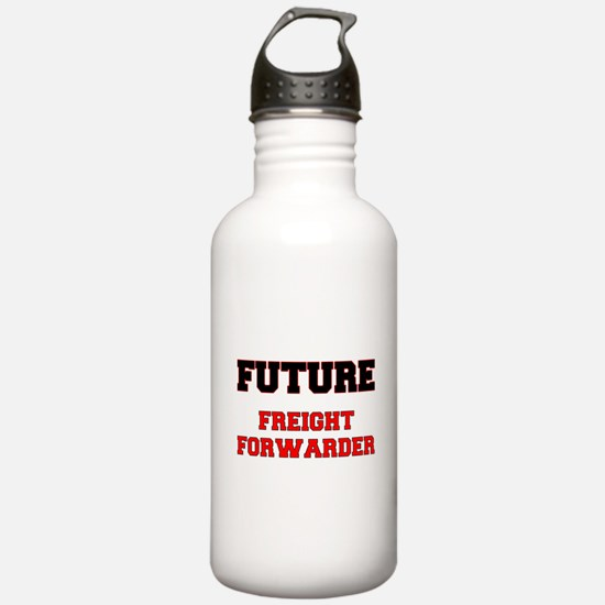 Future Freight Forwarder Water Bottle