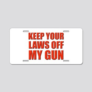 Your Laws Aluminum License Plate