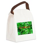 Hawaiian Palm Patterns Canvas Lunch Bag