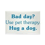 Bad Day Therapy Rectangle Magnet