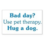 Bad Day Therapy Rectangle Sticker