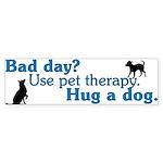 Bad Day Therapy Bumper Sticker