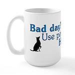 Bad Day Therapy Large Mug