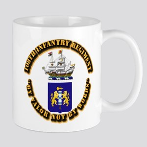 COA - 108th Infantry Regiment Mug