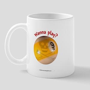 Wanna Play 9-ball Mug